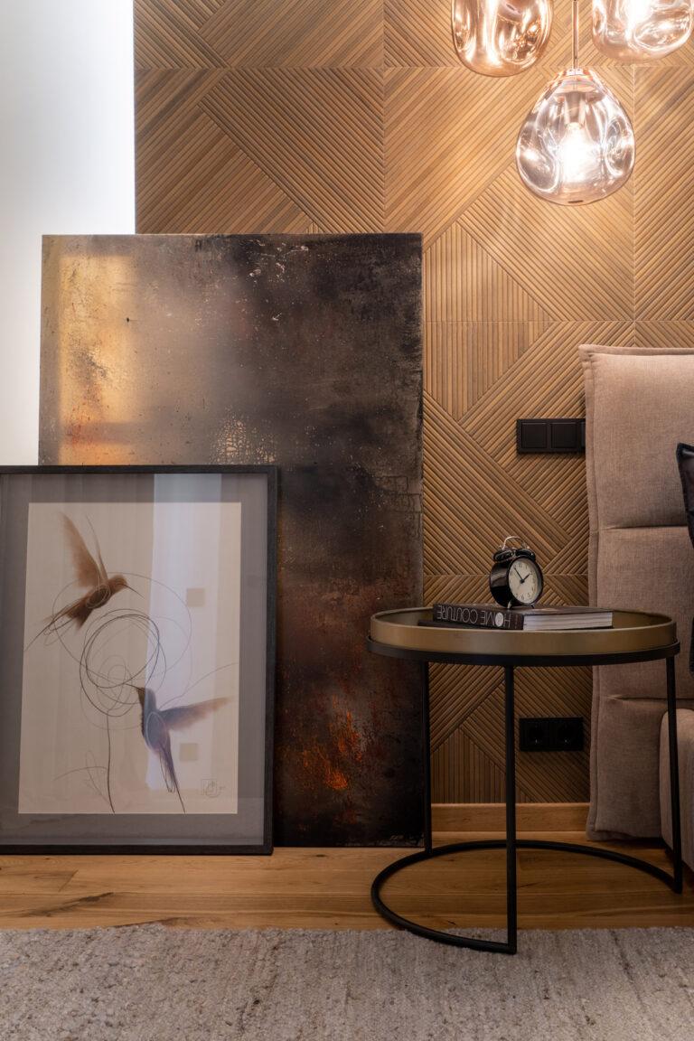 Картинy в интерьере «Фактура №1» и  «Фактура №7»