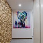 Картина в интерьере «Слон»